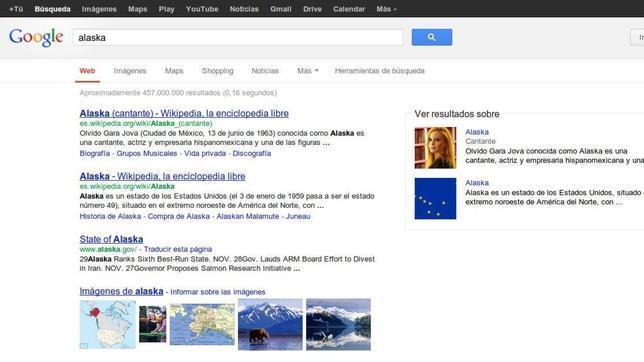 Google perfecciona sus búsquedas con el «gráfico del conocimiento»
