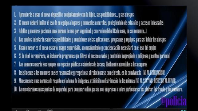 Los 10 mandamientos para un uso seguro de las «tablets» que han traido los Reyes