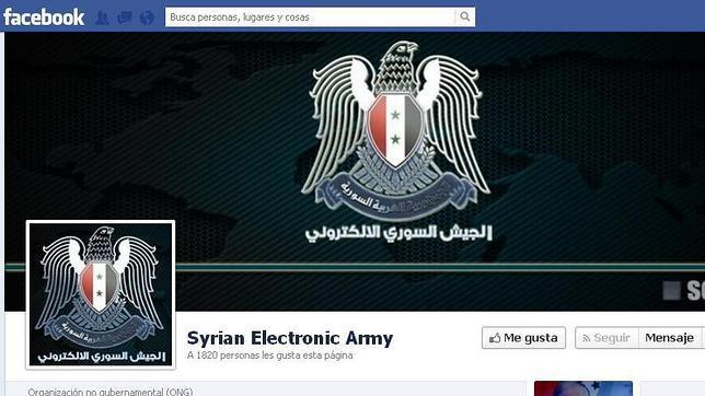Un grupo de 'hackers' leales a Al Assad se hace con el control del dominio de Facebook