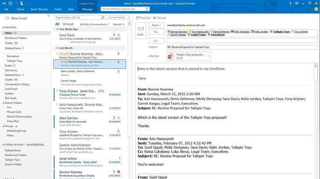Microsoft prepara el lanzamiento del nuevo Office que apostará por entornos colaborativos