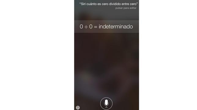 Las respuestas más curiosas de Siri