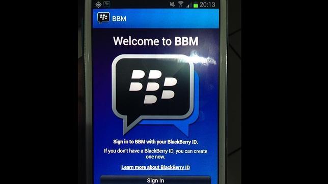 Samsung anuncia la llegada de BlackBerry Messenger para Android