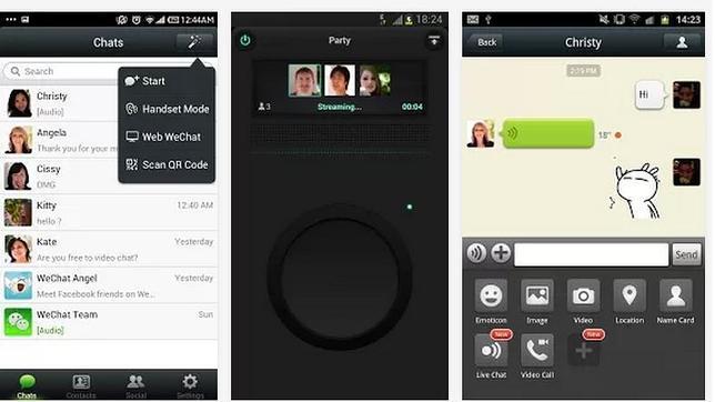 WeChat lanza su versión 5.0