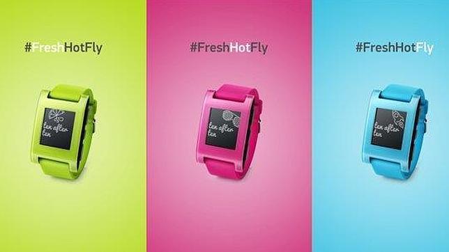 El «smartwatch» Pebble amplía su catálogo con tres nuevos colores