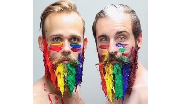 «The Gay Beards», las barbas creativas que arrasan en Instagram
