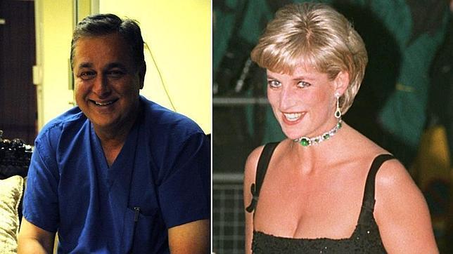 El examante, cirujano, de Diana de Gales asegura que el biopic de la princesa «traiciona su relación»