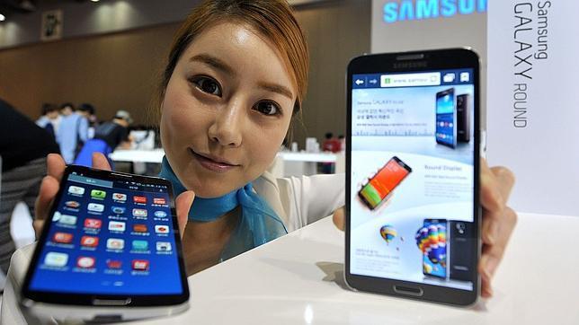 Los teléfonos de grandes pantallas, cada vez más populares