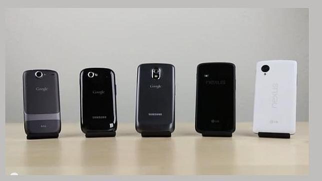 El Nexus 5 se somete una prueba de velocidad contra sus predecesores
