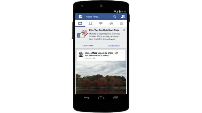 Facebook se une a la lucha para detener el virus del Ébola
