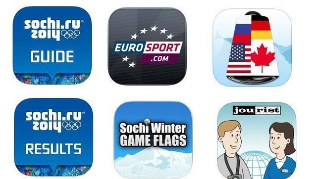 Sochi 2014: Seis «apps» para seguir los Juegos Olímpicos de Invierno