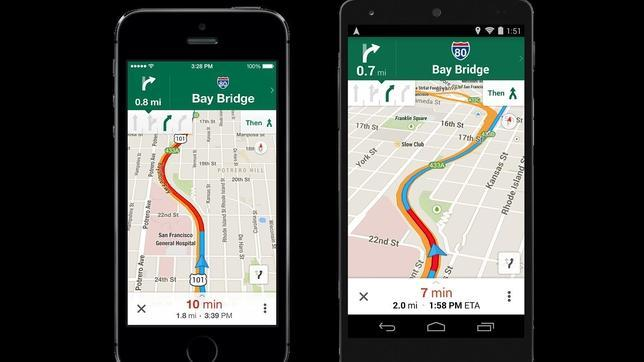 Google Maps se mejora con Uber, la polémica aplicación para pedir chófer
