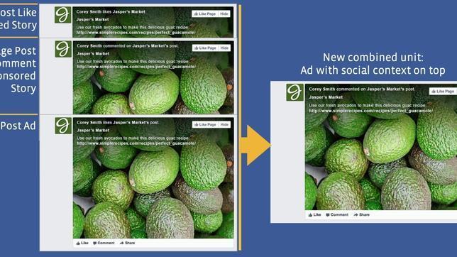 Facebook simplifica su publicidad