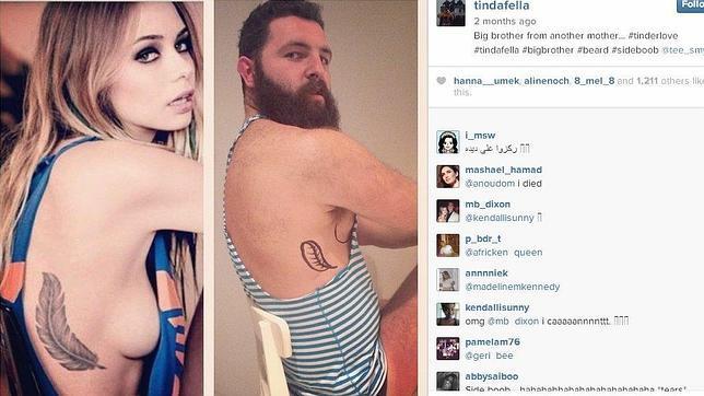 Tindafella, el hombre que se burla de los perfiles sexys en internet