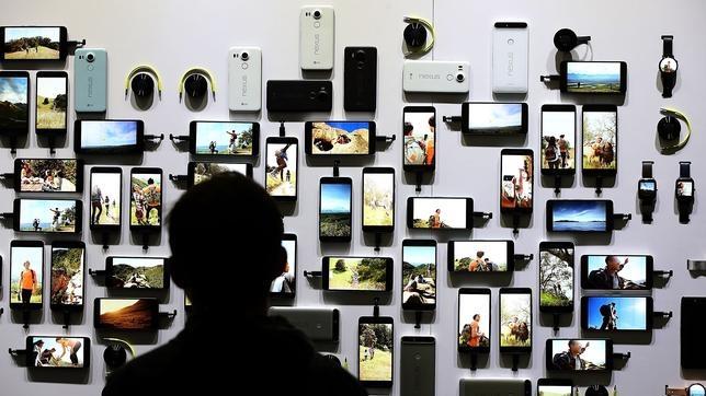 Tormenta eléctrica sobre el «smartphone»