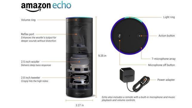 Amazon lanza un altavoz que también es asistente digital