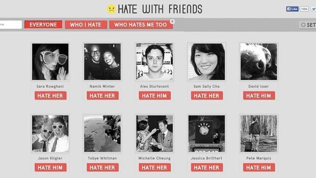 ¿Amigos en Facebook? Descubre quién te odia