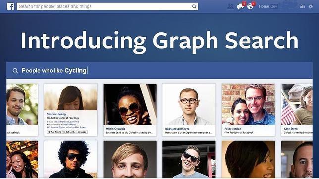 Graph Search de Facebook, disponible fuera de EEUU pero solo en inglés