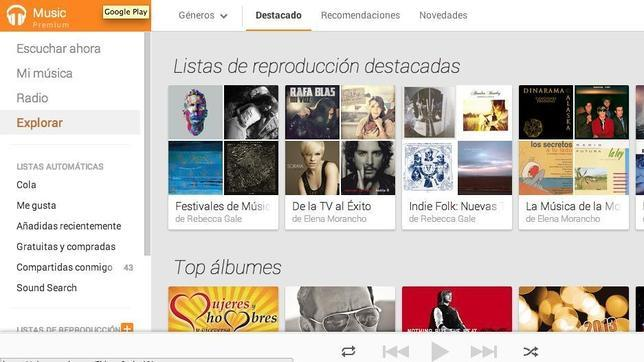 Google Play Music Premium llega a España