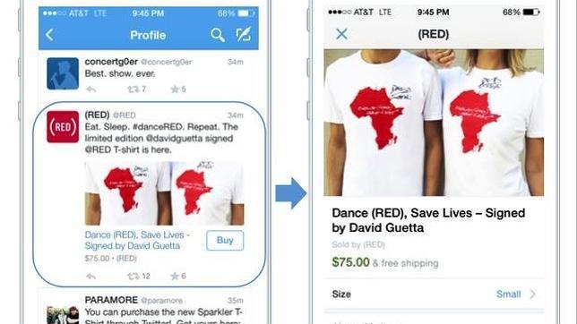 Twitter ya permite hacer compras desde los «tuits»