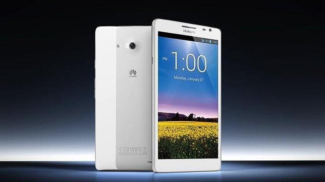 CES 2013: Huawei Ascend Mate, el tamaño sí que importa