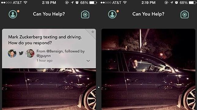 Mark Zuckerberg, «pillado» al volante mientras consulta su móvil