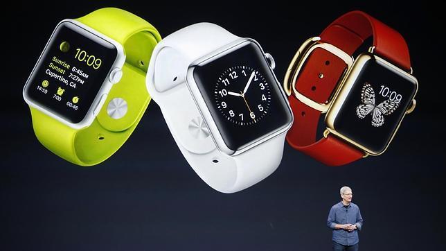 Apple presenta su esperado reloj inteligente