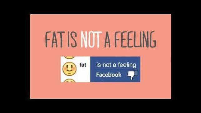 Facebook y el 'emoji' «me siento gordo»
