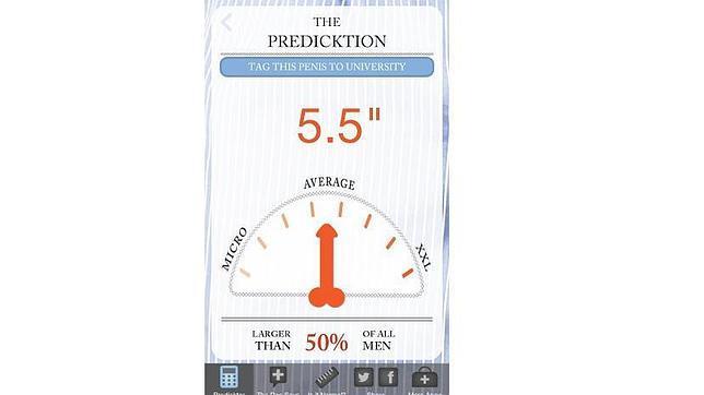 «The Predicktor», una aplicación que «adivina» el tamaño del pene