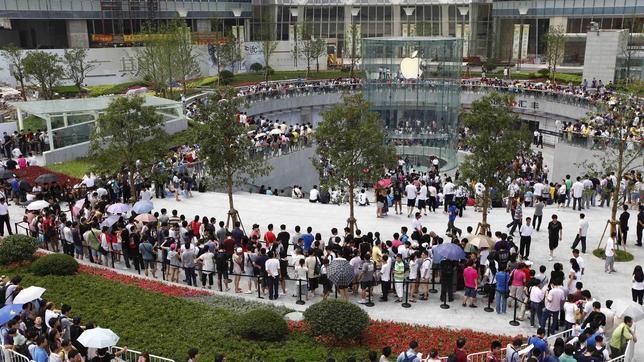Adiós a las colas de espera en las Apple Stores el día de la venta del Apple Watch