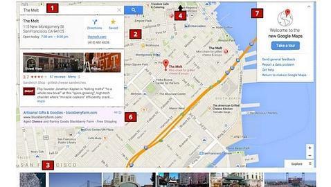 Google presentará una nueva interfaz de Google Maps