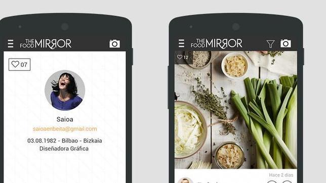 The Food Mirror, el «instagram español» para la comida