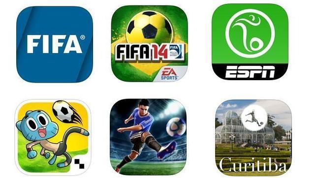 Las «apps» para seguir de cerca el Mundial Brasil 2014
