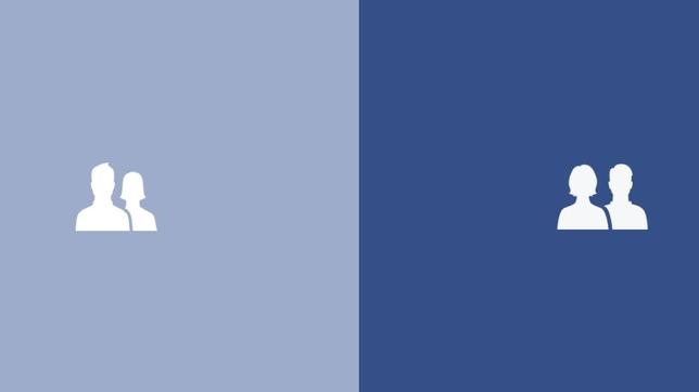 Facebook da prioridad a la mujer en su nuevo icono