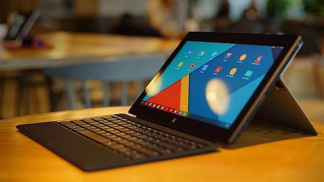 Jide presenta una tableta como Surface pero con Android