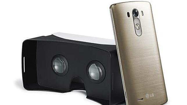 LG y Google se unen para crear un visor de realidad virtual para el LG G3
