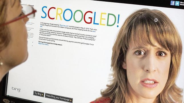 Microsoft carga de nuevo contra Google