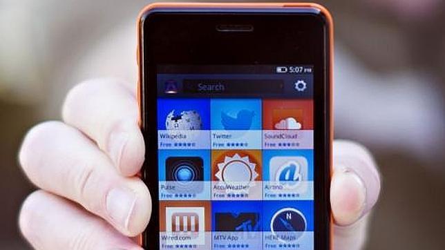 Mozilla ofrece gratis su «smartphone» Keon a los desarrolladores