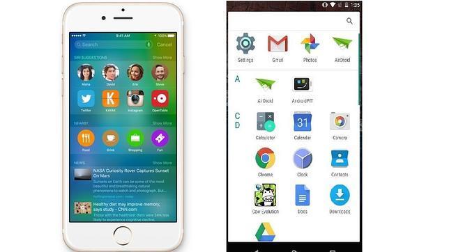 La batalla de iOS 9 contra Android M: ¿cuál es mejor?