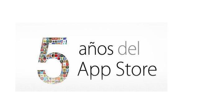 Los cinco años de la App Store en cifras