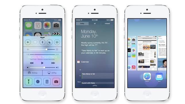 iOS 7, disponible a partir del 18 de septiembre