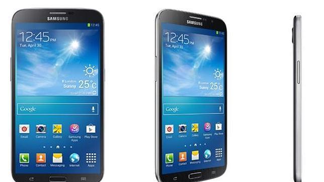 Samsung confirma los rumores y presenta el Galaxy Mega