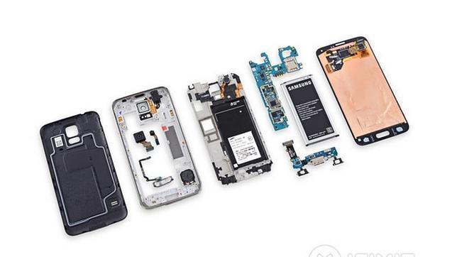 El Galaxy 5S es más complicado de reparar que su antecesor