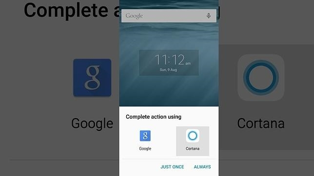 Cortana podrá reemplazar a Google Now