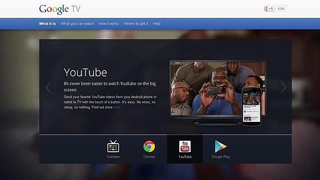 Google TV podría sustituir a Android TV
