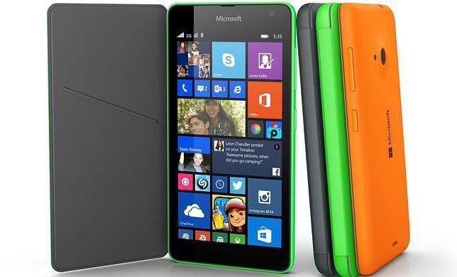 Microsoft lanza el Lumia 535, el primer «smartphone» tras prescindir de la marca Nokia