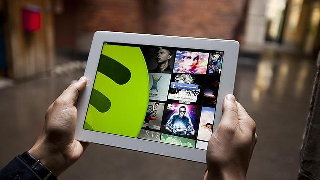 Spotify, ahora gratis en «tablets» y móviles