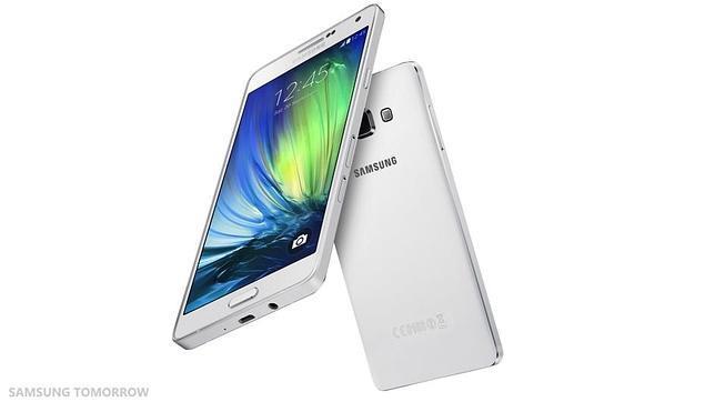 Samsung vuelve a apostar por el marco de metal en su nuevo «smartphone» Galaxy A7