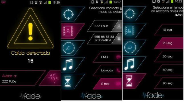 Una «app» que alerta a un contacto de si te caes al suelo