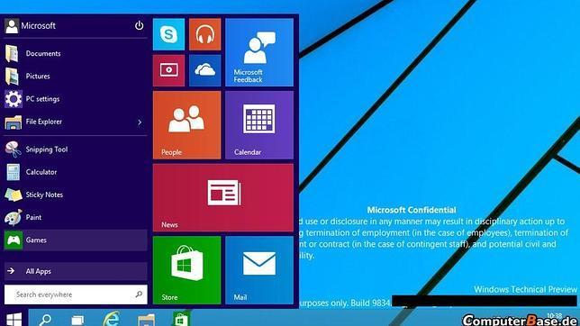 Publican un vídeo que muestra cómo funciona el «menú de inicio» de Windows 9