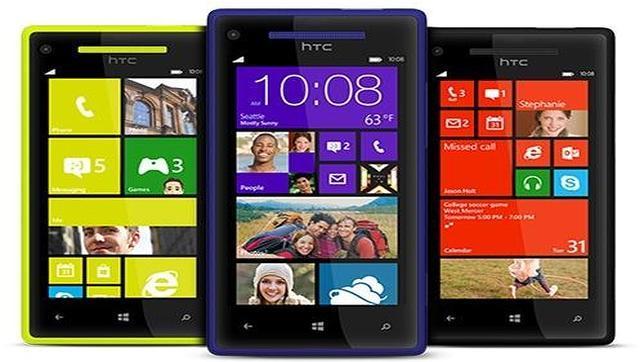 HTC lanza junto con Vodafone el primer «smartphone» con Windows Phone 8